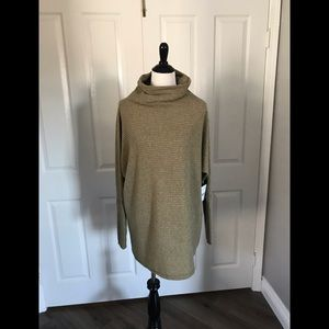 NWT Free People Army Combo sweater size S